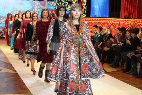 В Астане прошел фестиваль моды «Сән мен сахна»