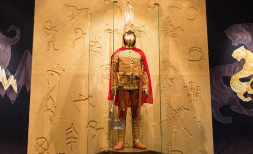 «Золотого человека» покажут на выставке в Казанском Кремле